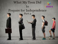 Part 2 of a series on building a strong transcript and still fitting in real life preparation. Prepare Teens for Independence