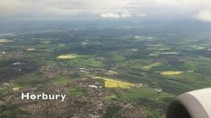 Aerial Views from Huddersfield to Landing at Leeds Bradford Airport - 23...