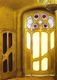 Casa Batllo / Vidrieras / Vidrieras interiores del piso noble