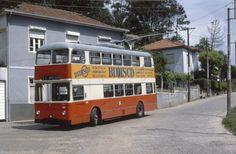 STCP Lancia Trolleybus 150 | Sao Pedro da Cova Porto - 7/6/1… | Flickr Bus Coach, Busses, Old Pictures, Transportation, Tourism, Public, Europe, Retro, Vehicles