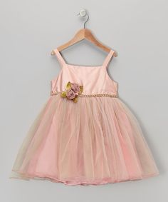 Take a look at this Pink Champagne Delight Dress - Infant on zulily today!