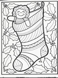 coloring pages doodling | More Let's Doodle Coloring Pages! | Inside Insights