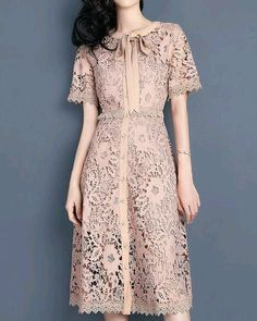 New dress midi vintage outfit Ideas Trendy Dresses, Simple Dresses, Casual Dresses, Short Dresses, Batik Dress, Lace Dress, Couture Dresses, Fashion Dresses, Vintage Dresses