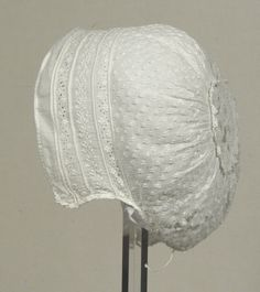 Cotton cap 1850-60