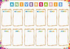 Aniversaris (cartells)