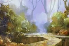 Image result for mahabarata forest lake scene