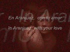- In Aranjuez With Your Love. Lets Play Music, Primer Video, Word Pictures, Love You, My Love, Music Songs, Techno, Madrid, Words