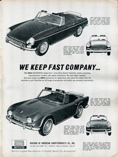 1965 Amco Products Advertisement Road & Track March 1965   by SenseiAlan
