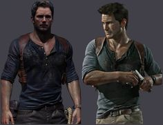 Uncharted movie cast nathan drake actor chris pratt