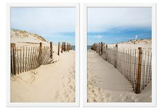 "Beach Path photographic print sold by William Stafford Gallery | OneKingsLane.com 36"" x 25"" overall"