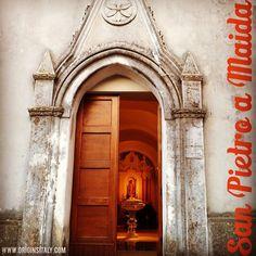 My grandfather's hometown! Chiesa di San Nicola di Bari. San Pietro a Maida, Catanzaro, Calabria, Italia. ORIGINS ITALY. http://www.originsitaly.com/home-away-from-rome-san-pietro-a-maida/ #italy #italia #family #familyhistory #sanpietroamaida #spietroamaida #genealogy #genealogia #familyhistory #catholic #cattolica #chiesa #church #catanzaro #lamezia #maida #roots #origin #originsitaly #happy #door #entrance #instaitalia #calabria #paese #hometown #heritage #history #doorway #ancestry