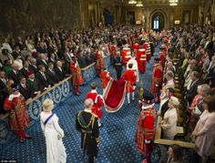 """forkingandempire: """"The State Opening of Parliament 2016 """""""