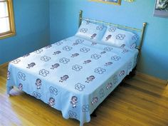 University of North Carolina College Dorm Sheets in Twin XL size