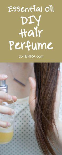 doTERRA Essential Oils DIY Hair Perfume Recipe