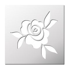 Quilling Patterns, Stencil Patterns, Stencil Designs, Rose Stencil, Stencil Art, Stencils, Butterfly Template, Flower Template, Stencil Painting On Walls
