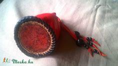Honfoglaláskori mintájú fűzött kecskebőr zacskó  (Maryleathers) - Meska.hu Bracelets, Leather, Jewelry, Jewlery, Jewerly, Schmuck, Jewels, Jewelery, Bracelet