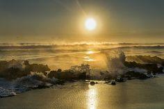Cold Morning at Coral Cove Jupiter, Fl