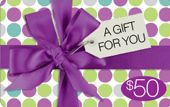 Buy $10, $25 or $50 Gift Cards for friends or family on purchase of home decor, garden decor, furniture, and many other gift ideas.
