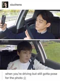 On point, Xiumin! But please don't crash....