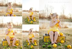 Super cute lemon session by Erica!