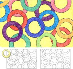 Art Projects for Kids: overlapping