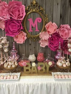 It's a girl Baby Shower Party Ideas | Photo 1 of 13 | Catch My Party