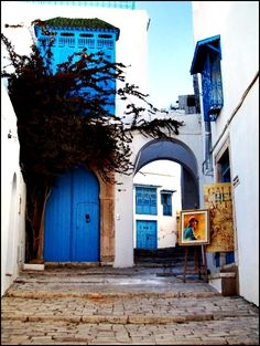 Sidi Bou Said | Tunisia --The world at your feet!