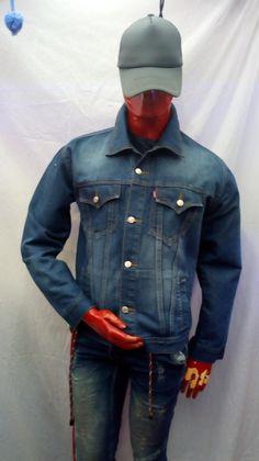 Denim, Jackets, Fashion, Men, Down Jackets, Moda, Fashion Styles, Fashion Illustrations, Jeans