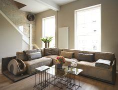 Дизайн интерьера элитных апартаментов в стиле лофт