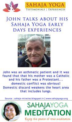 John talks about his Sahaja Yoga early days experiences