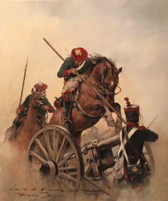 Lancero de Navarra, 1834. Ferrer Dalmau. Más en www.elgrancapitan.org/foro Military Art, Military History, Historical Art, American War, Napoleonic Wars, Dark Ages, Old Master, Fantastic Art, Illustrations Posters