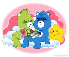 Care Bear Chest Tattoo by John Perlock... Too cute lol