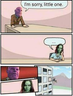 Thanos - Gamora - Infinity War
