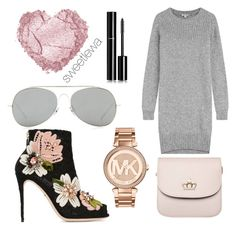 """#167"" by sweetlewa on Polyvore featuring Kenzo, Dolce&Gabbana, Acne Studios, Chanel and Michael Kors"