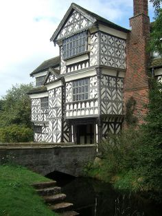 Little Moreton Hall, Cheshire, England