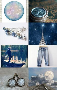 True Blue by Susan Jizba, TheWeaverOfWords --Pinned with TreasuryPin.com