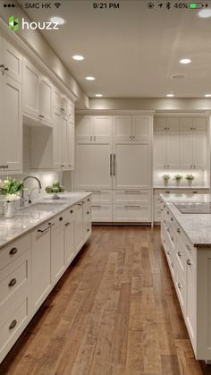 Plank tile flooring idea for kitchen?