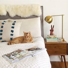 Bedside game on point. #ByMyBed by @ainttooproudtomeg #mywestelm