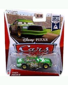 All your favorite characters from the Disney Pixar film, CARS in scale.