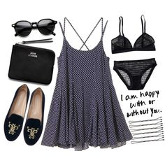 """I'm happy with/out you."" by fashxo on Polyvore"