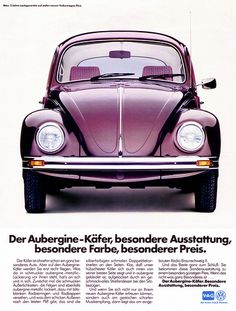 VW Käfer (1983) Aubergine
