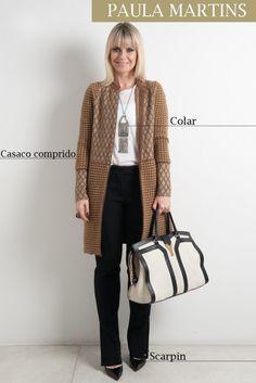 Casaco Marni, blusa Talie NK, colar Atelier Mayer, calça Prada, bolsa YSL, scarpin Louboutin
