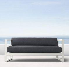 Aegean Aluminum White (Outdoor Furniture CG) | RH