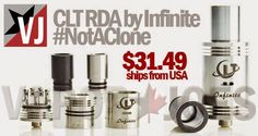 Vapor Joes - Daily Vaping Deals: GET REAL: THE CLT RDA BY INFINITE - $31.49