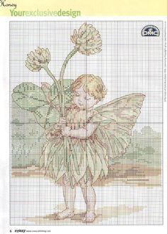 Gallery.ru / Фото #5 - Cross Stitch Crazy 086 июнь 2006 - tymannost clover fairy