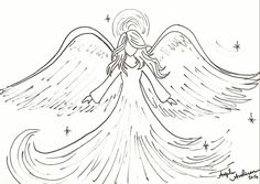 Angel Traceable #angelafineart