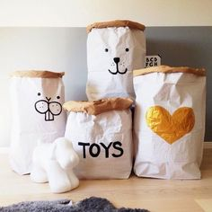 tellkiddo etsy sac en papier déco chambre enfant babayaga magazine agence avril jim