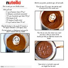how to make nutella at home in tamil