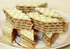 Oblande sa orasima i bademima - Recept - Brzi kolači Baking Recipes, Cookie Recipes, Dessert Recipes, Desserts, Crepes And Waffles, Bakery Packaging, Kolaci I Torte, Croatian Recipes, Romanian Food