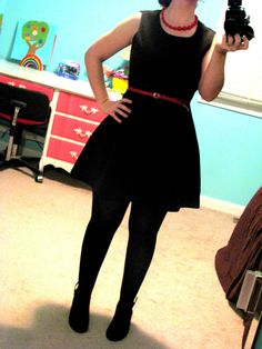 """a penny for your closet; thrift store fashion/ goodwill finds...""""all I want for Christmas is a little black dress"""""""
